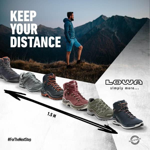 keep distance van lowa